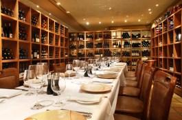 semi private wine room