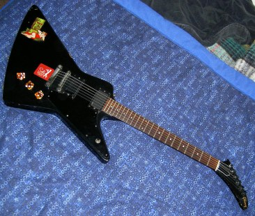 '83 Gibson Explorer with EMG pickups