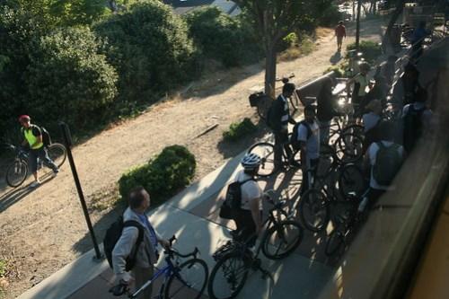 Caltrain bikes