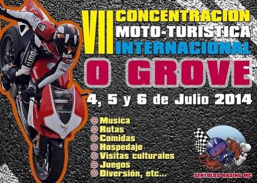 VII Concentración Moto-Turística Internacional - O Grove