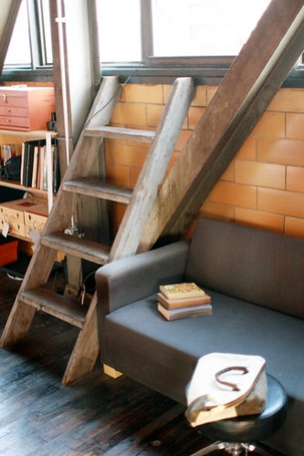 Reading Nook &amp; Ladder