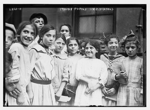 N.Y. school - Italians  (LOC)