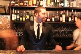 Co-owner barman Steve Da Cruz | The Corner Suite Bistro De Luxe