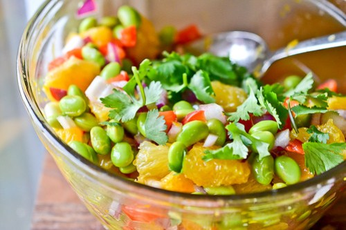Edamame & Orange Salad-4