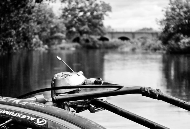 Bikerafting experiment: Floating 1
