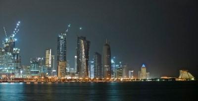 Doha skyline at night | Flickr - Photo Sharing!