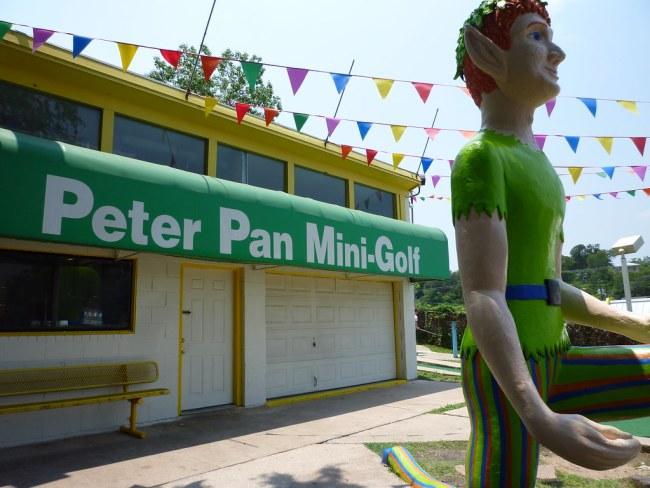 Zilker Peter Pan Mini-Golf