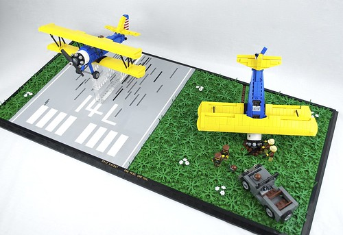 Stearman PT-17 Kaydet Diorama, Overview