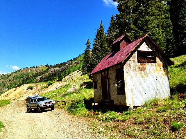 Old Shack, County Road 18, Ouray County, Colorado, 2013