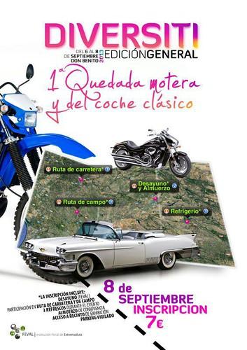 1 Quedada Motera y del coche clásico - Don Benito