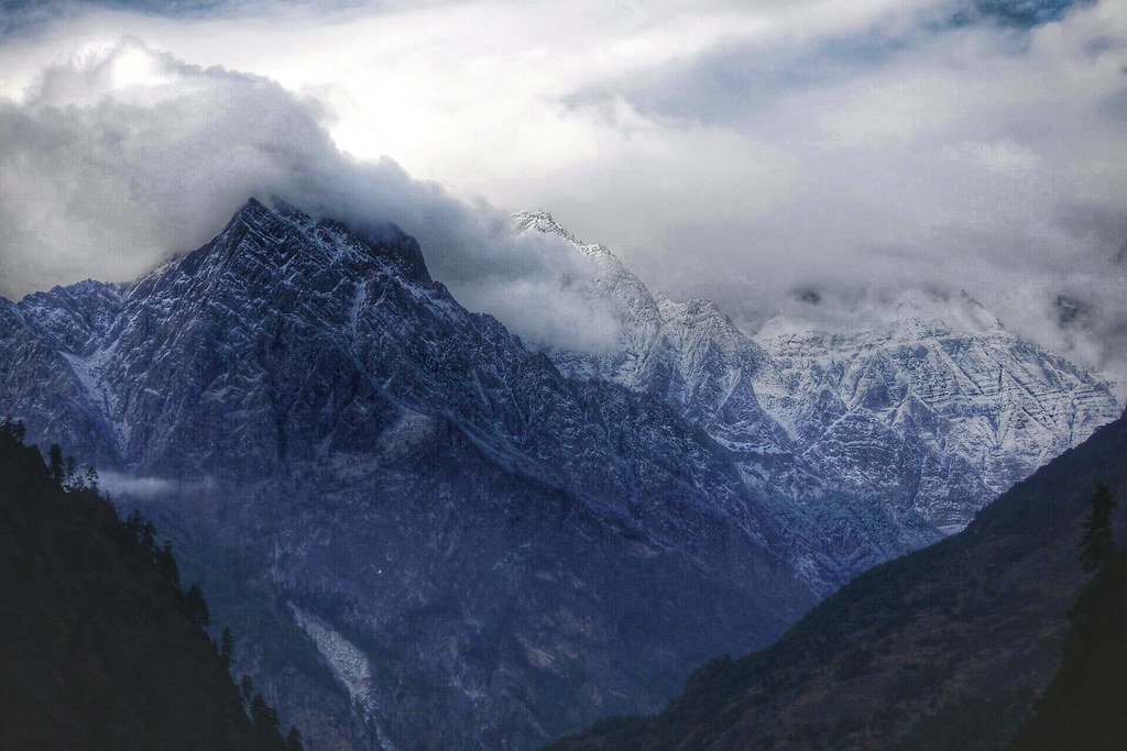 Storms in Ganesh Himal