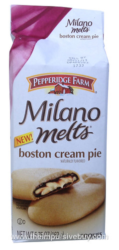 Pepperidge Farm Boston Creme Pie Milano Melts