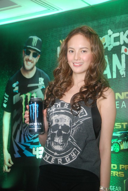 Ellen Adarna with the Monster Energy Drink  (4)
