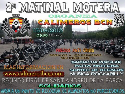 2 Matinal Motera Calimeros - Sant Andreu de la Barca