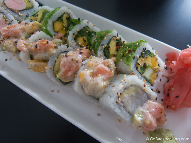Sushi House is no doubt the best place for raw fish in Medellin.