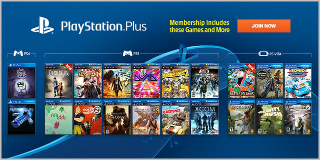 PlayStation Plus Update 1/21/14