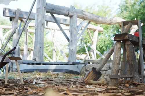 Roundwood Timber Frame Workshop