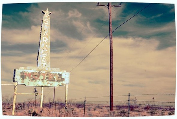 8982982832 c9b69daef3 Stardust Motel Neon Sign Marfa Texas West