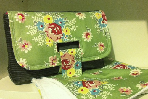 Strap Clutch with change mat