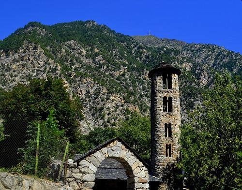 Santa Coloma, Andorra la Vella.