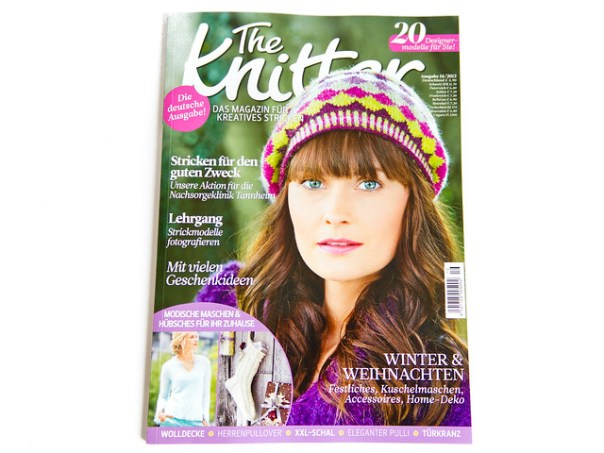 The Knitter magazine, German issue