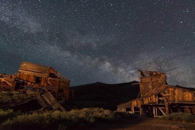 Old Mine at Night