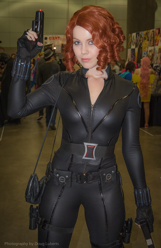 Genevieve Marie Black Widow Stan Lee Comikaze