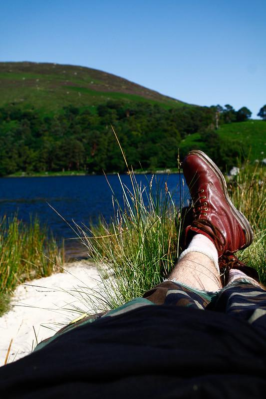 Tuukka13 - PHOTO DIARY - Hiking around Luggala and Lough Tay Wicklow, Ireland, 06.2013 -11