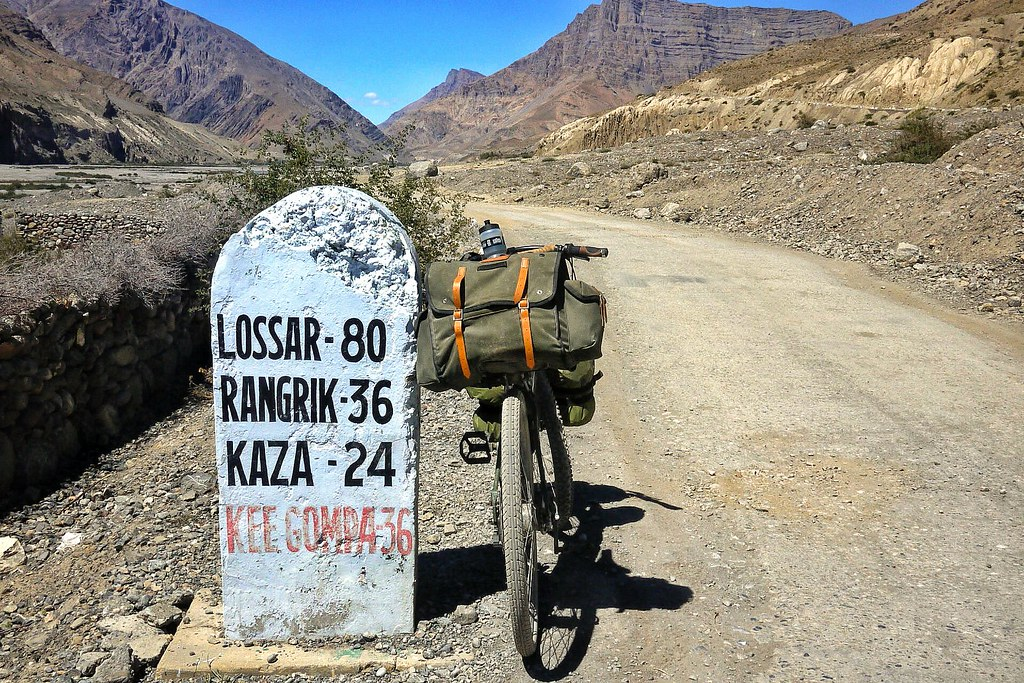 The road to Losar