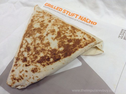 Taco Bell Grilled Stuft Nacho