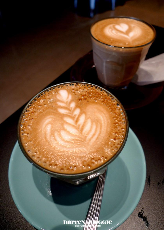 Brunch at DOC Department of Caffeine