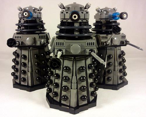 LEGO Daleks Classic Grey