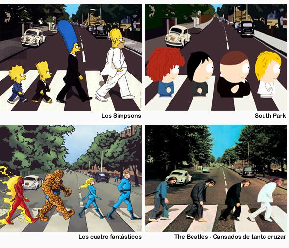 El cruce de Abbey Road es mundialmente conocido, todos los que lo hemos visitado queremos una foto allí mismo, en el mismo lugar, cruzando ... sentir la historia, cada paso que dieron los mismísimos Beatles.