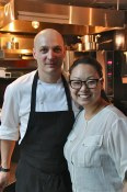 Tony Marzo and Sachi Iwamoto, owners of Kessel & March,