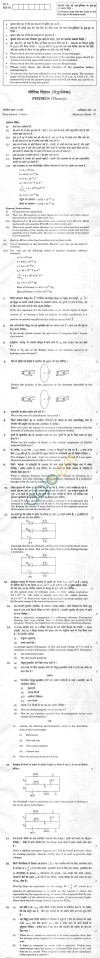CBSE Compartment Exam 2013 Class XII Question Paper   Physics