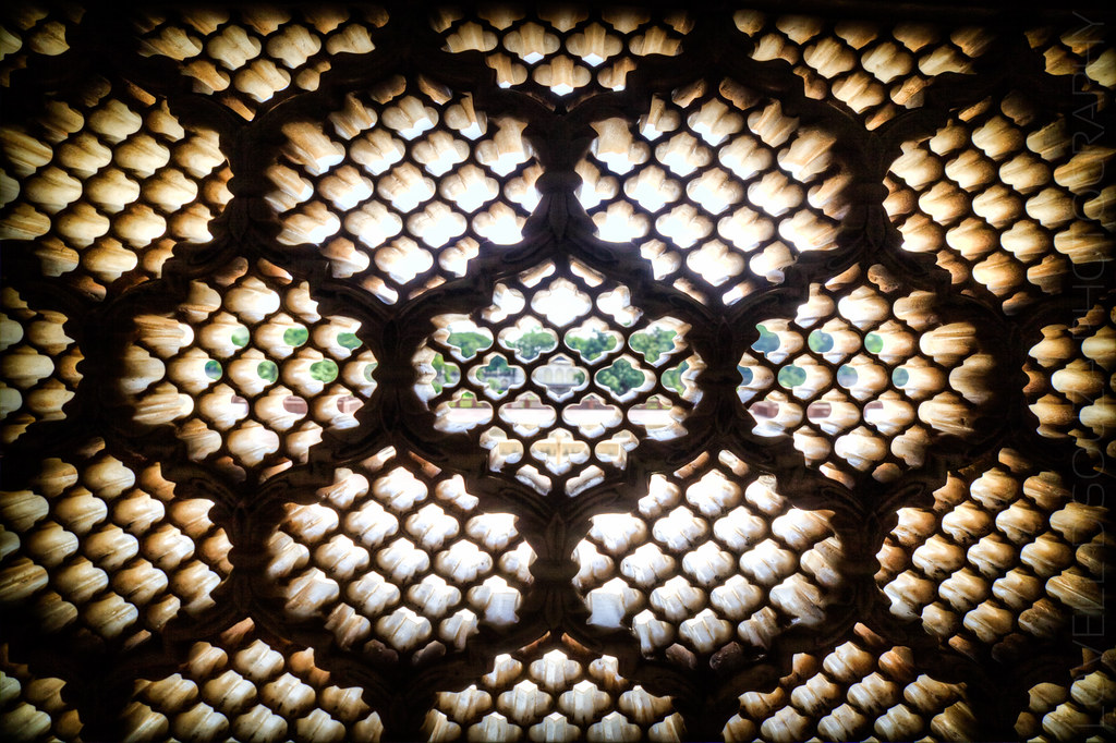 Bibi Ka Maqbara - The Marble Screen