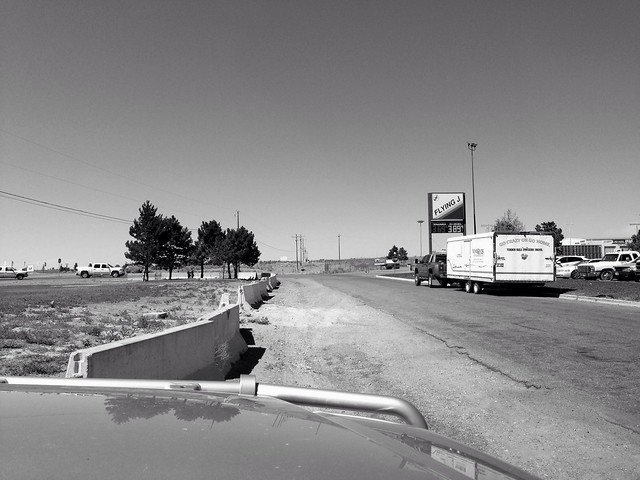 Stopping for Gas, Twin Falls, Idaho, 2013