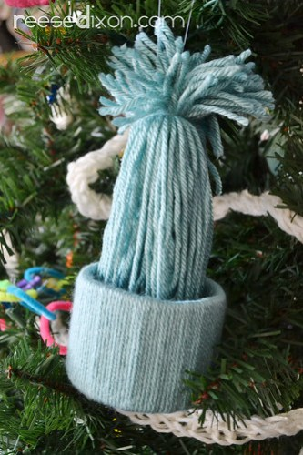 Stocking Cap Ornament Tutorial