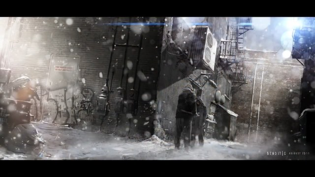 Concept art created by Quantic Dream