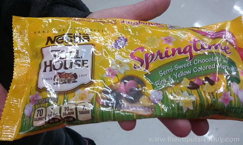 Nestle Toll House Limited Edition Springtime Semi-Sweet Chocolate Pink & Yello Colored Morsels