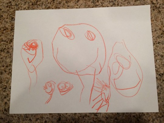 our family, by Annabel