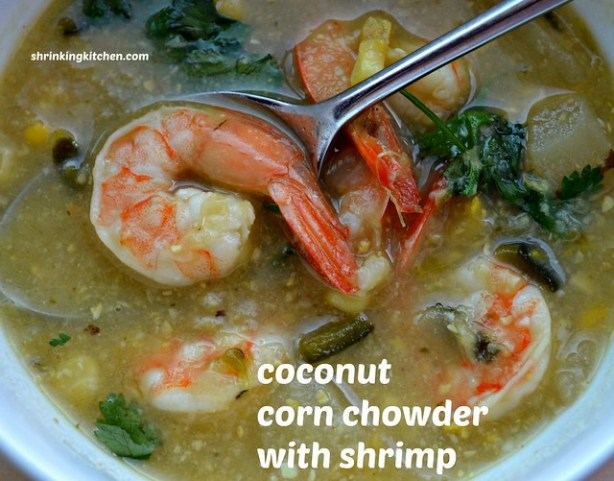 coconut corn chowder