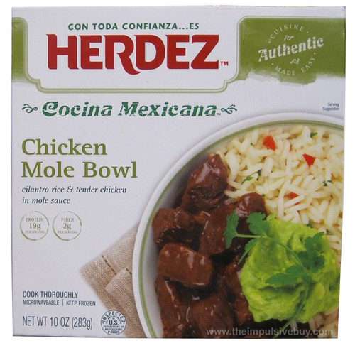 Herdez Chicken Mole Bowl