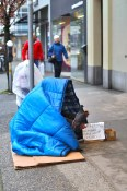Homeless on South Granville