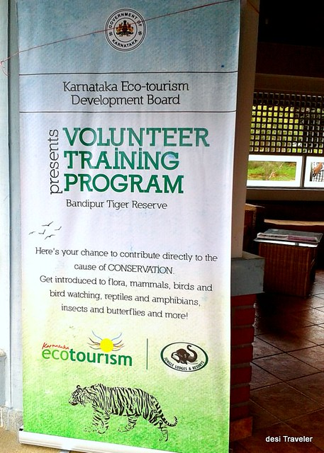 Eco volunteer training program Bandipur tiger reserve #leavemealone