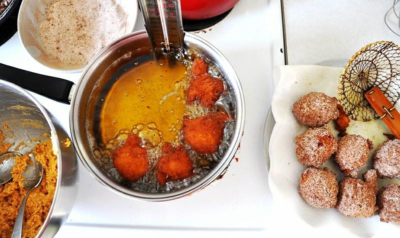 Spiced Pumpkin Fritters