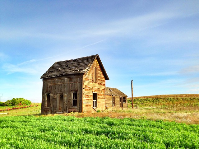 Abandoned Farm House - Road 8.5 NW Douglas County, WA (May 2013)
