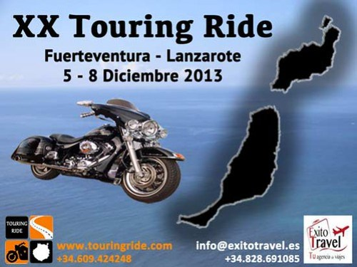XX Touring Ride - Fuerteventura Lanzarote