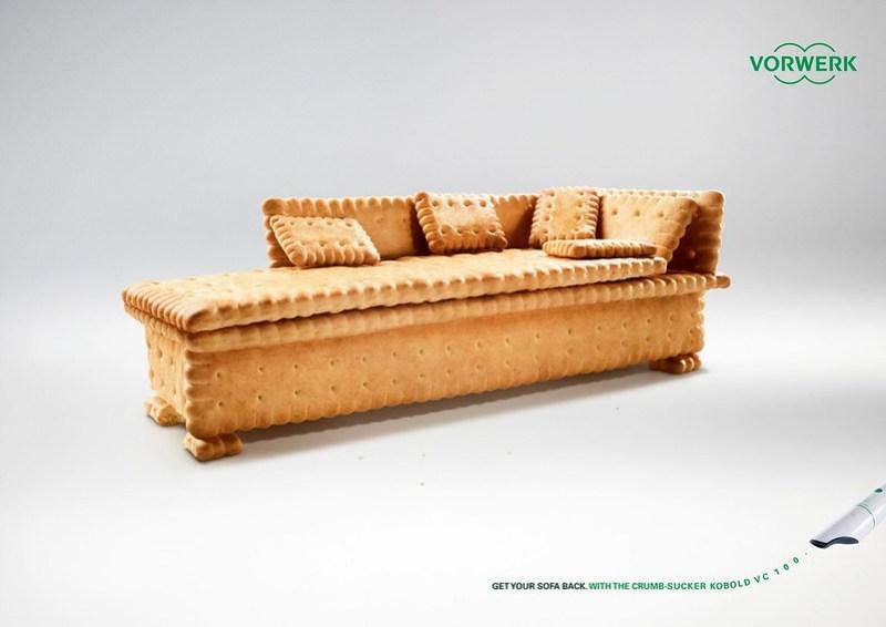 Vorwek - Biscuit Sofa