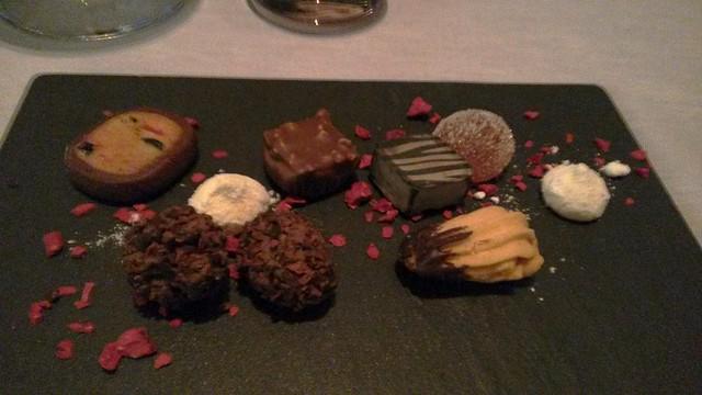 Chocolates at Tosca